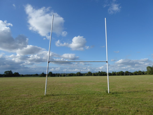Rugby pitch next to Sheep Walk