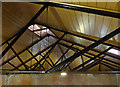 SK2625 : Claymills Victorian Pumping Station - roof by Chris Allen