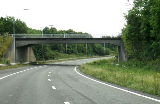 Hobnock Road crosses the M54