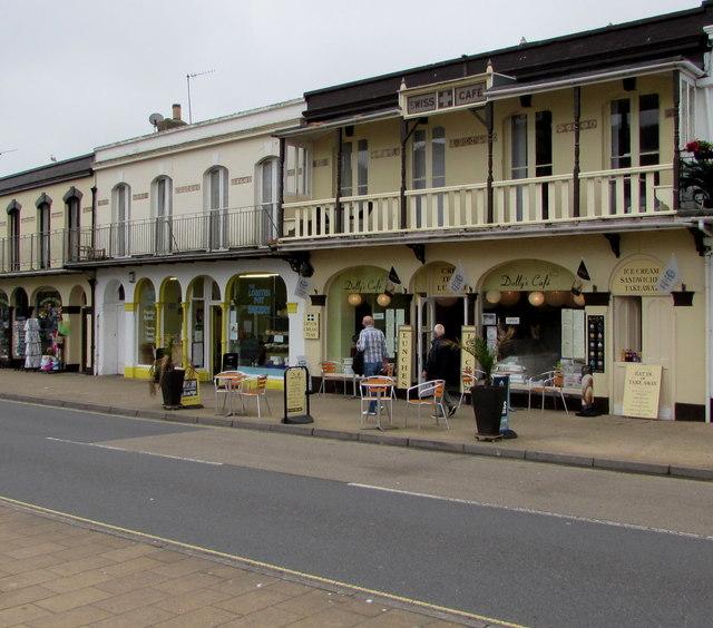 Dolly's Café/Swiss Café, Ilfracombe