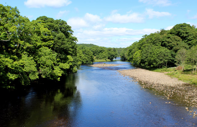 River Tees Upstream from the Deepdale Aqueduct
