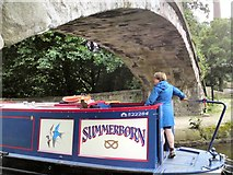 SJ9398 : Summerborn goes under by Gerald England