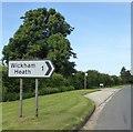 SU4168 : Bus stop by A4 at Bradford's Farm by David Smith