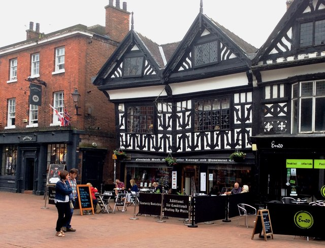 Nantwich Book Store, Coffee Shop and Pavement Side Cafe