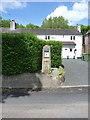 SJ6902 : Old petrol pump, Coalport by Richard Law