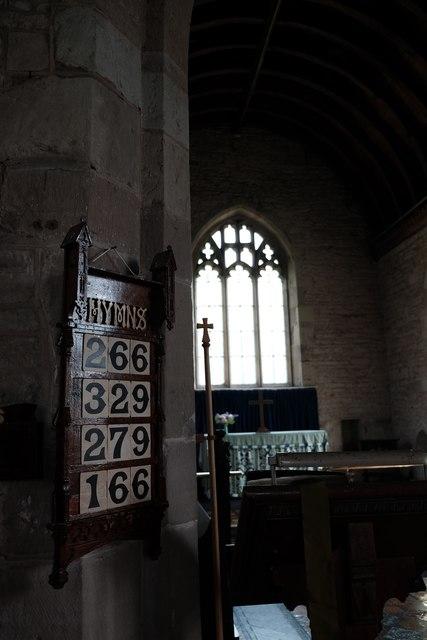 Sollers Hope church interior