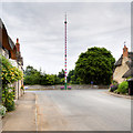 SP0546 : Offenham Main Street and Maypole by David Dixon