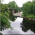 SD5193 : River Kent at Dockwray Footbridge by Ian Taylor