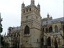 SX9292 : Exeter Cathedral [2] by Michael Dibb
