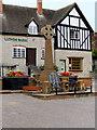 SP1051 : The High Street, Bidford-on-Avon War Memorial by David Dixon
