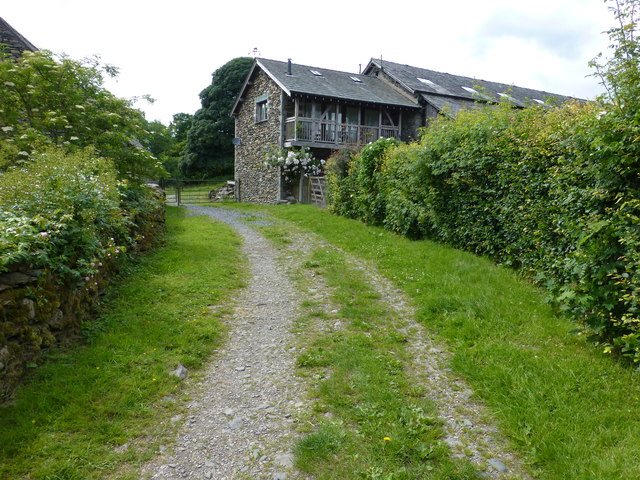 Cottage on track in Staveley Park
