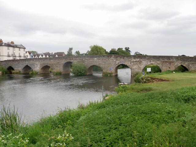 River Avon, Bidford Bridge