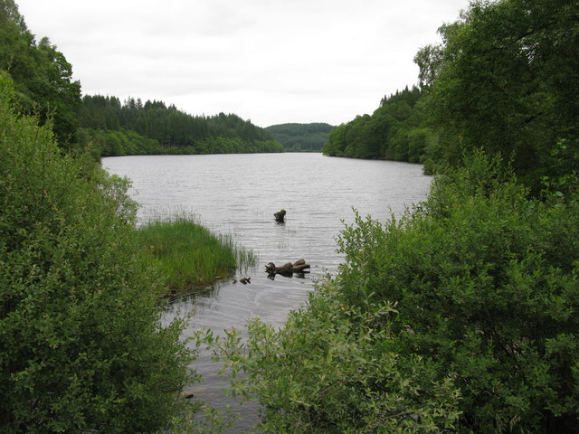 Loch Drunkie © G Laird :: Geograph Britain and Ireland