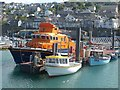 SW4628 : Lifeboat, Newlyn Harbour by Robin Drayton
