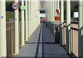 NO4129 : Pedestrian walkway on the Tay Road Bridge by Mat Fascione