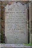 SW4730 : Gravestone by St Mary's Church by Oast House Archive
