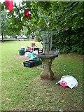 ST5773 : Listed birdbath, Victoria Park by Alan Murray-Rust