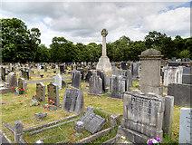SJ8959 : St Lawrence's Churchyard and War Memorial, Biddulph by David Dixon