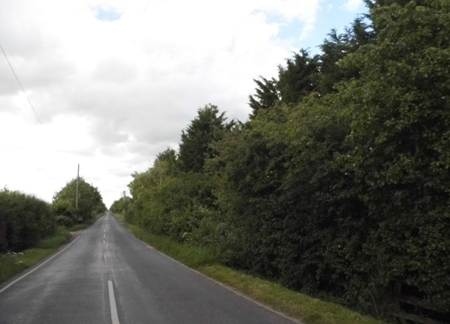 Station Road west of Raunds