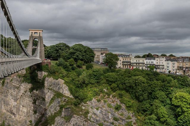 Clifton Suspension Bridge and Sion Hill