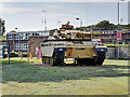 SY8288 : Challenger Tank Outside Stanley Barracks by David Dixon