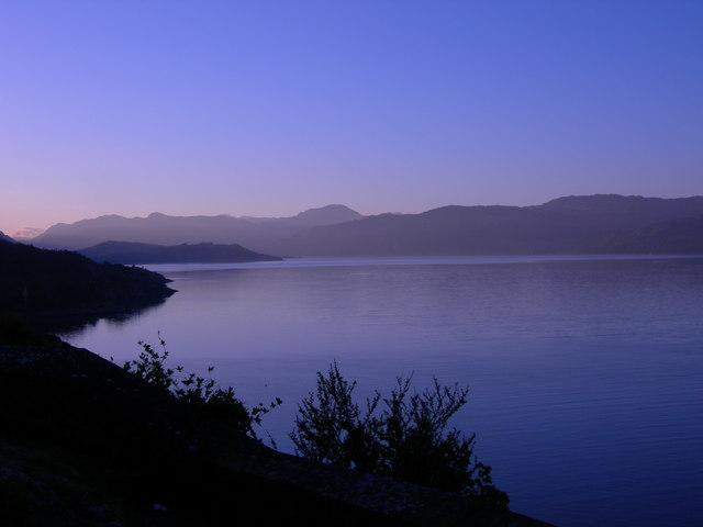 Loch Alsh in early morning light