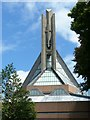 ST5773 : Clifton Cathedral spire by Alan Murray-Rust