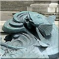 ST5773 : Fish in the fountain (1) by Alan Murray-Rust