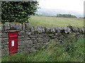 NY7956 : Postbox, Common Bank, Keenley by Andrew Curtis