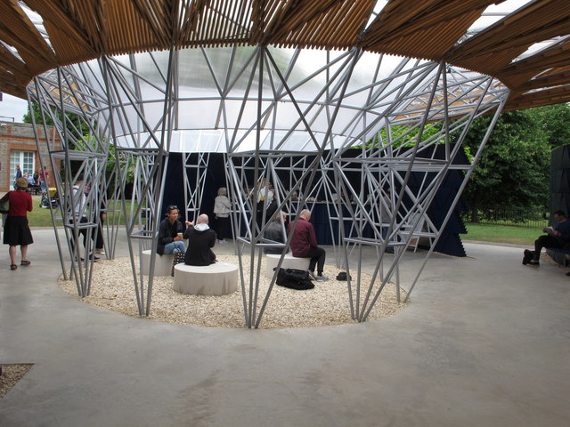 Serpentine Gallery Pavilion 2017, central support