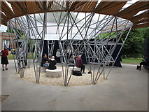 TQ2679 : Serpentine Gallery Pavilion 2017, central support by David Hawgood