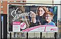 """J3373 : Metro """"day trips"""" poster, Belfast (June 2017) by Albert Bridge"""