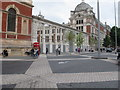 TQ2679 : New Exhibition Road entrance to V & A by David Hawgood