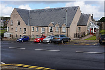 HU4741 : Building on King Erik Street, Lerwick by Ian S