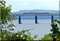 NO3927 : Train crossing the Tay Bridge by Mat Fascione