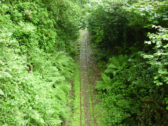 Lynton and Barnstaple Railway disused trackbed