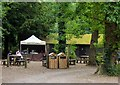 ST5573 : Refreshment area, Leigh Woods by Alan Murray-Rust