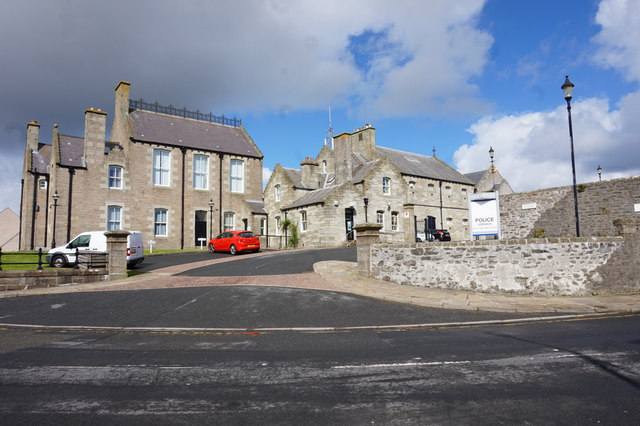 Courthouse and Police Station
