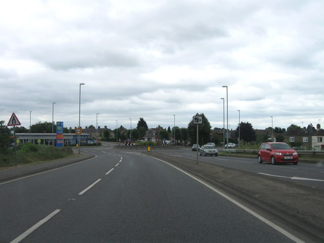 A141 southbound