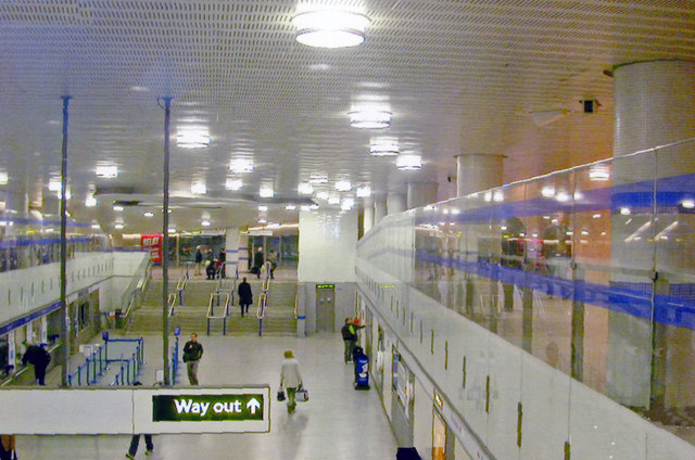 King's Cross St Pancras, exit  from Underground station, 2007