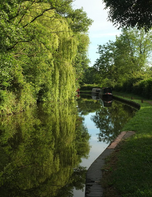 Stratford Canal at Lowsonford