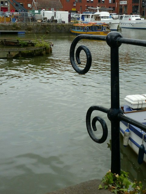 Harbour railings, Floating Harbour