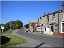 SD4464 : Northern section of Out Moss Lane, Morecambe by Richard Vince