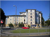 SD4364 : Block of flats, Queen Street, Morecambe by Richard Vince