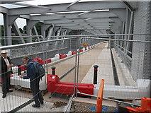 ST5672 : Bristol : Ashton Avenue Swing Bridge by Lewis Clarke