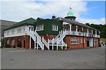 TQ0762 : The Clubhouse, Brooklands Museum by David Martin