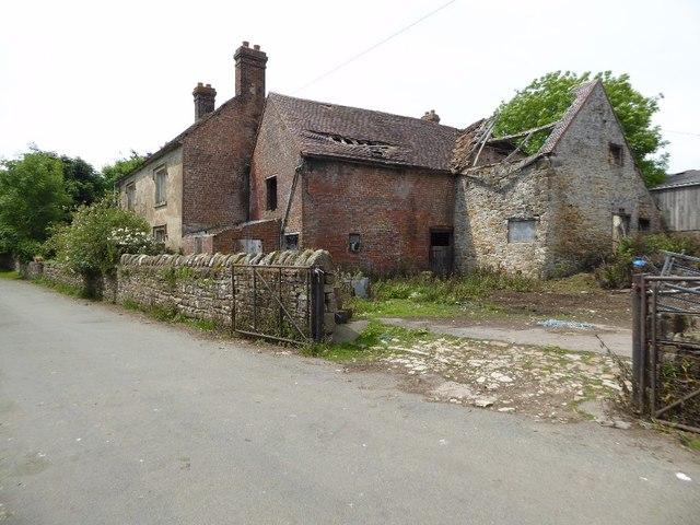 Farmhouse and buildings, Hillhead