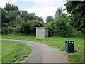 ST2076 : Northwest corner of Splott Park, Cardiff by Jaggery