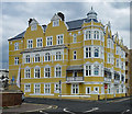 TQ2804 : Seaside mansion block, Hove by Julian Osley