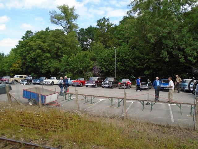Historic Cars - Eridge Station Car Park